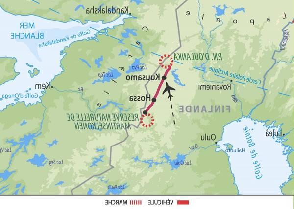 Voyage Laponie finlandaise - Voyager dans le Monde