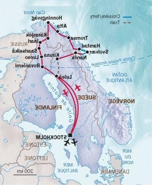 Voyage Laponie : Séjours et Circuits sur mesure