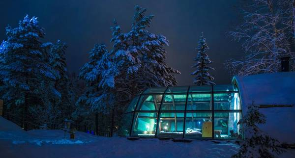 Vivre un rêve blanc en Laponie