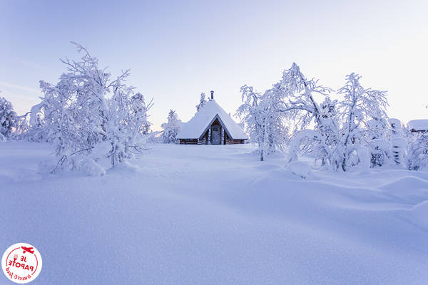 Au nord du cercle polaire | Conseils voyage Hiver finlandais